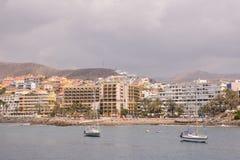 Kształtuje teren w Tropikalnych Powulkanicznych wyspach kanaryjska Hiszpania Fotografia Stock