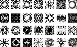 kształty wzorów Fotografia Royalty Free