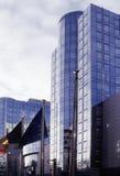 które budynku Brukseli parlament eu. Obraz Royalty Free