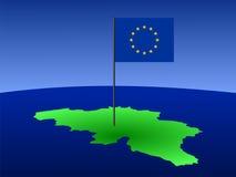 które mapa flagę ilustracji