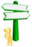 Który kierunku pojęcie ilustracja wektor