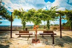 Który marszruta pod słońcem w Tuscany? zdjęcia royalty free