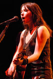 KT Tunstall performing live Stock Photography