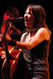 KT Tunstall performing live Stock Photo
