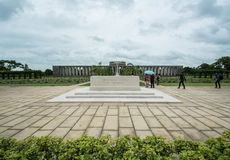KTAUK KYANT, MYANMAR - JULI 29: Oorlogsgraven bij de de oorlogsbegraafplaats van Htauk Kyant op 29 JULI, 2015 in Ktauk Kyant, Mya Royalty-vrije Stock Foto's