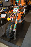 KTM 350 SX-F Cairoli Edition Motorbike Royalty Free Stock Images