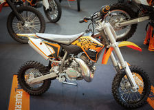 KTM 50 SX on display Stock Photos