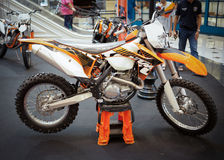 KTM 500 EXC, Enduro Royalty Free Stock Images
