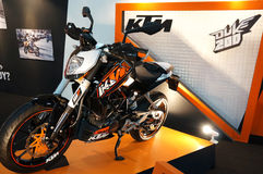 KTM 200 Duke Royalty Free Stock Photos