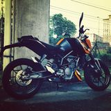 KTM Duke 200 Royalty Free Stock Image
