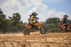 KTM Motocross Fuse racing thailand 2015 Royalty Free Stock Photo