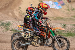 KTM Motocross Fuse racing thailand 2015 Stock Images