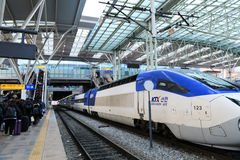 Free KTX At Seoul Train Station Stock Photos - 83278353