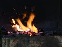 Kuźnia ogień zdjęcie wideo