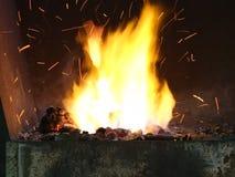 Kuźnia ogień zbiory wideo