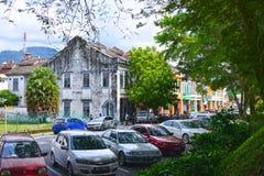 Kuala Kubu Bharu Town royalty-vrije stock afbeelding