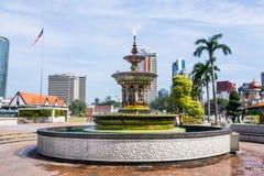 KUALA LAMPUR, MALAYSIA FEB10, 2015: Turist- lopp på sultan Arkivbild