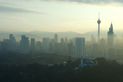 Kuala Lumpar Cityscape Stock Photo
