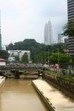 Kuala Lumpur śródmieście Zdjęcia Stock