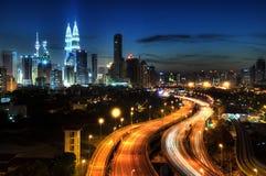 Kuala Lumpur Arkivbild