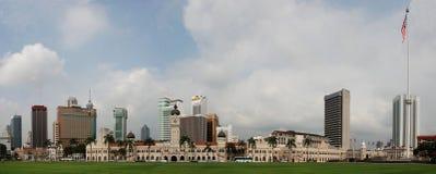 Kuala Lumpur. Panoramic View of Kuala Lumpur Stock Photo