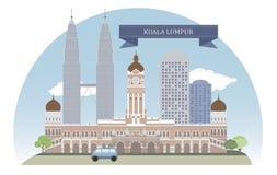 Kuala Lumpur Royalty-vrije Stock Afbeeldingen