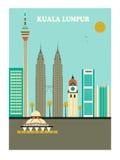 Kuala Lumpur Arkivbilder