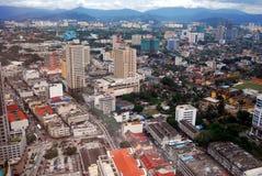 Kuala Lumpur Aerial View Royalty Free Stock Photo
