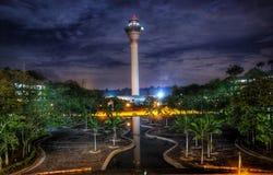 Kuala Lumpur airport tower Royalty Free Stock Photos
