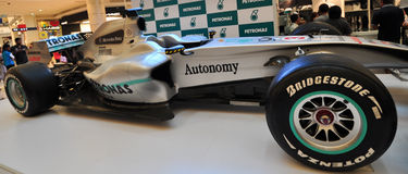 KUALA LUMPUR, April 10, 2011: Formula 1 symbolic arca Stock Images
