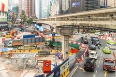 Kuala Lumpur-Arbeiten stockfotos