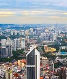 Kuala Lumpur architecture, Malaysia Royalty Free Stock Image