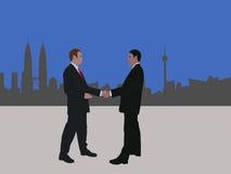 Kuala Lumpur business meeting Stock Image