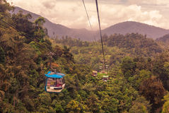 KUALA LUMPUR Cableway leading to Genting, Stock Photos