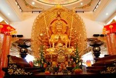 Kuala Lumpur: Chinese Temple Buddha Stock Photography