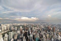 Kuala Lumpur City Aerial View Royalty Free Stock Photos