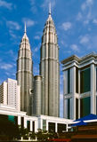 Kuala Lumpur City Center Royalty Free Stock Photo