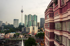 Kuala Lumpur city center Royalty Free Stock Photography