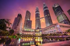 Kuala Lumpur City Center Stock Photos