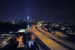 Kuala Lumpur City Centre (KLCC) Royaltyfria Foton