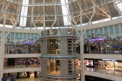 Kuala Lumpur City Centre (KLCC) Mall Stock Image