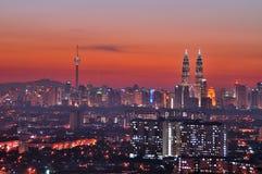 Kuala Lumpur City Centre Stock Images