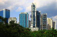 Kuala Lumpur City Centre Royalty Free Stock Images