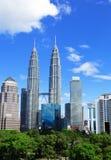 Kuala Lumpur city in daytime Royalty Free Stock Photo