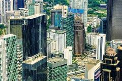 Kuala Lumpur city, district with modern skyscrapers, Malaysia stock photos