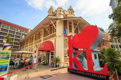 Kuala Lumpur City Gallery Arkivbilder