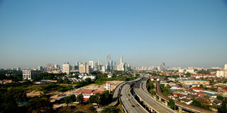 Kuala Lumpur City, Malaysia. Royalty Free Stock Image