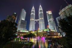 Kuala Lumpur City skyline, Malaysia. Stock Image