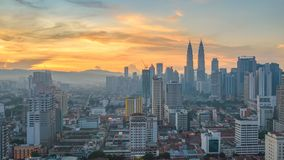 Kuala Lumpur Malaysia time lapse