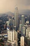 Kuala Lumpur city view, Malaysia Royalty Free Stock Photos